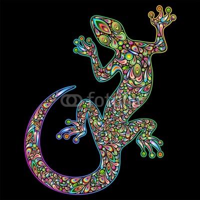 Psychedelic graphic art designs on fotolia bluedarkart for Meuble cameleon