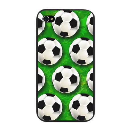 Soccer Ball Football Pattern iPhone Snap Case by Bluedarkartgifts