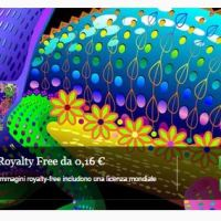 Chameleon Rainbow Featured on FOTOLIA's Home Page - Copyright©BluedarkArt