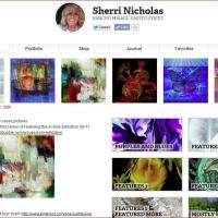 Sherri Nicholas New Front Page At Redbubble