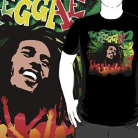 Reggae Rasta T-Shirt SOLD on Redbubble!  Thank You! :)