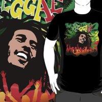 Reggae Rasta T-Shirt SOLD on Redbubble!  Thank You! :)
