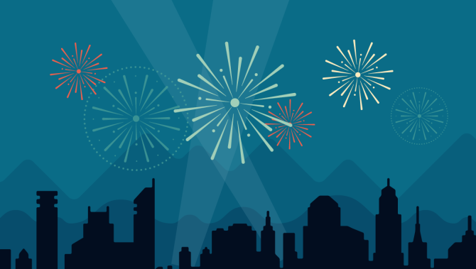 See the #fireworks I created by blogging on #WordPressDotCom. My 2014 annual report.