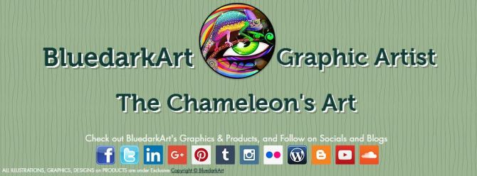 BluedarkArt The Chameleon's Art - Website