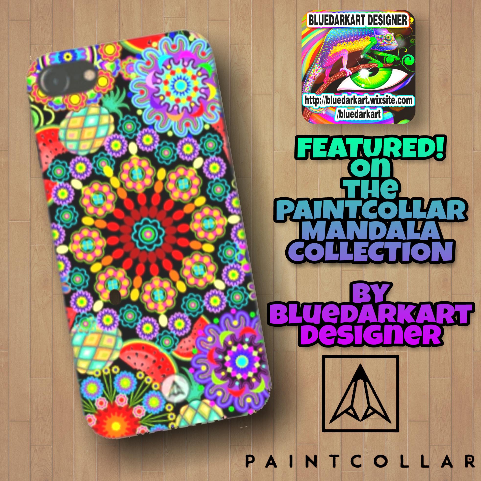 "the best attitude b1299 7b487 Mandalas & Exotic Fruits"" FEATURED on the PaintCollar ""Mandala ..."