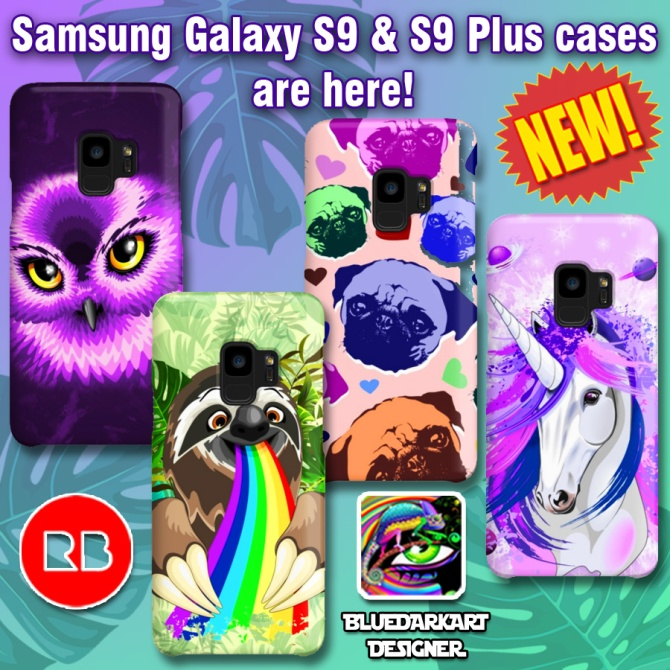best cheap 92d67 b2527 Samsung Galaxy S9 & S9 Plus cases are here! | BluedarkArt the ...