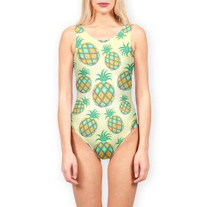 Pineapple Pastel Colors Juicy Pattern by BluedarkArt