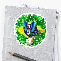 SOLD! Brazil Flag Gold Green and Soccer Ball Comforters - Thank You!