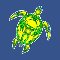 NEW! Sea Turtle Reef MarineLife Tattoo Style TShirts | Design by BluedarkArt