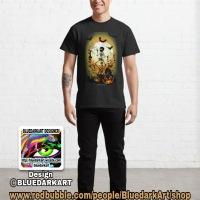 SOLD! Skeletons Macabre DanceClassic T-Shirts 💀 Design ©️ BluedarkArt TheChameleonArt